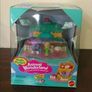NEW IN BOX VTG 1995 Polly Pocket Elephant House ✨